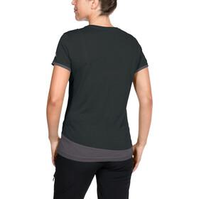 VAUDE Sveit Camiseta manga corta Mujer, black